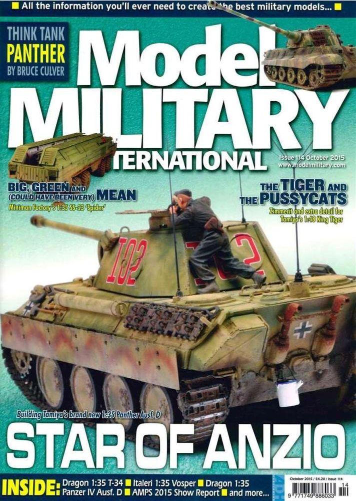 Model Military International Issue 114 -October 2015- magazine