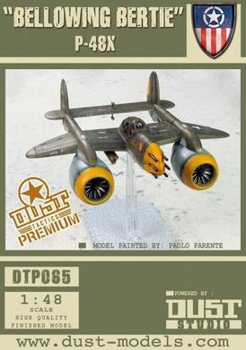 "P-48 Pelican ""Bellowing Bertie / Diving Dooty"", 1 літак 2 зброї, під масштаб 40 мм (Dust Tactics DT-065), пластик"