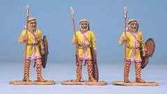 3 Figures Persian Immortals Royal Guard