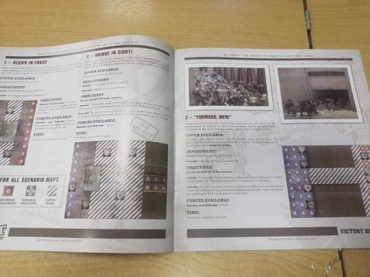 "Книга правил Dust Tactics Battle Book ""Victory Bridge"""