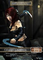 Assassin #1 Token Magic: the Gathering (Токен) GnD Cards