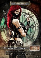 Assassin #3 Token Magic: the Gathering (Токен) GnD Cards