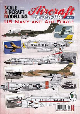 "Альманах ""Aircraft in Profile volume 2: US Navy and Air Force"" (на английском языке)"