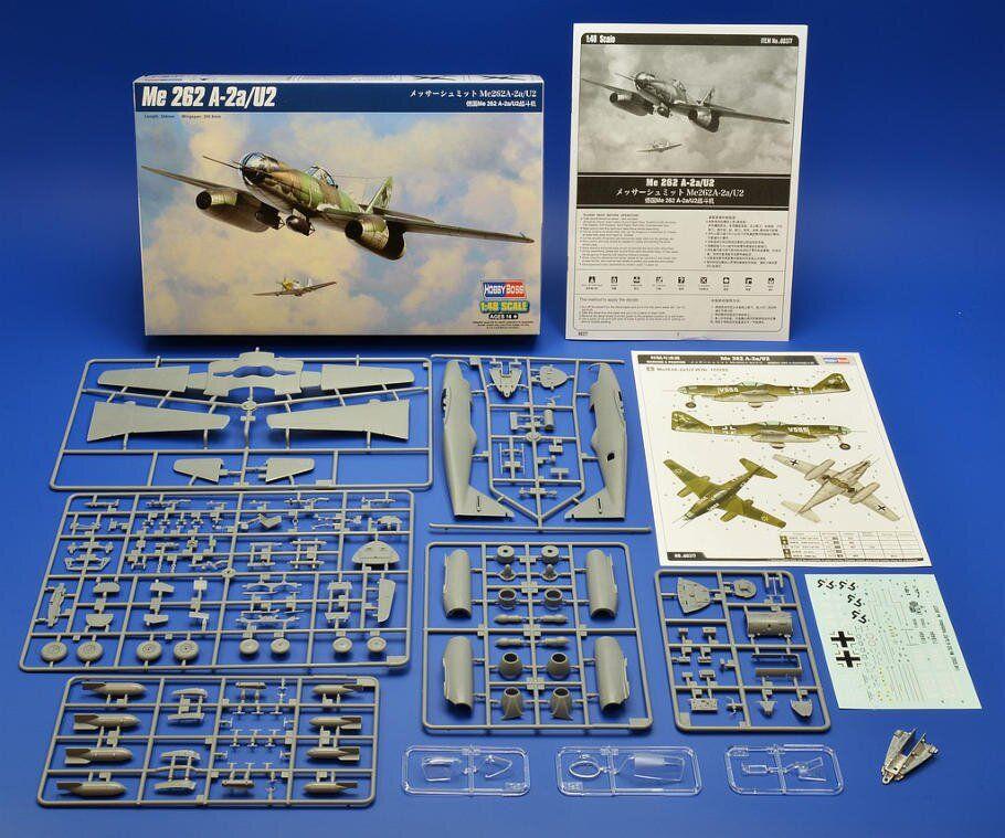 Hobbyboss 1//48 80377 Messerschmitt Me262 A-2a//U2
