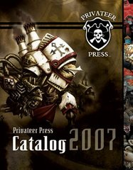 Privateer Press Books and Magazines - Каталог Privateer Press 2007 (full color, soft cover) - PRIV-PIP 2007