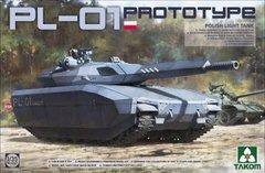 1/35 PL-01 прототип легкого танка (Takom 2127) сборная модель