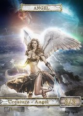 Angel #10 Token Magic: the Gathering (Токен) GnD Cards