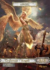 Angel #11 V1 Token Magic: the Gathering (Токен) GnD Cards