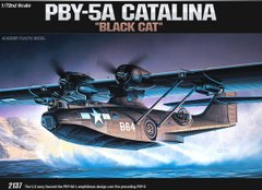 "1/72 Consolidated PBY-5A Catalina ""Black Cat"" (Academy 12487) сборная модель"