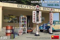 1/35 Немецкая заправка 1930-40 годов (MiniArt 35598) сборная пластиковая модель