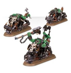 Ork Warbiker Mob (Games Workshop 99120103011) Орки: Звено боевых байкеров