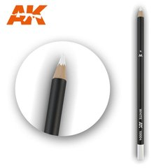 "Карандаш для везеринга и эффектов ""Белый"" (AK Interactive AK10004 Weathering pencils WHITE)"