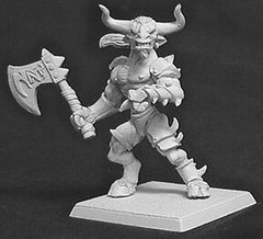 Reaper Miniatures Warlord - Minotaur of the Maze - RPR-14007