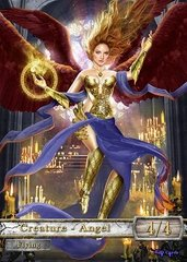 Angel #17 Token Magic: the Gathering (Токен) GnD Cards