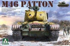 1/35 M46 Patton американский средний танк (Takom 2117) сборная модель