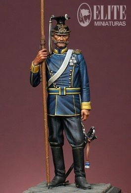 70 мм Trooper of the 11th. (2nd. Brandenburg) Regt. of Ulans