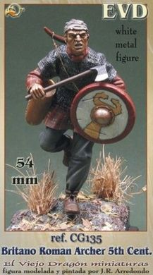 54 мм Roman Britain archer 5th century