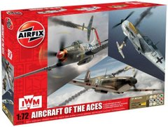 1/72 Aircraft of the Aces + клей + краска + кисточка (Airfix 50143)