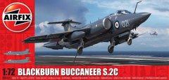 1/72 Blackburn Buccaneer S.2C британский палубный самолет (Airfix 06021), сборная модель
