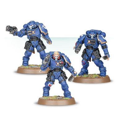 Space Marine Primaris Reivers, Easy to Build (Games Workshop 99120101183) Космодесант: Разбойники Примарис, сборка без клея