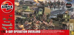 1/76 D-Day Operation Overlord Gift Set (Airfix 50162) + клей + краска + кисточка