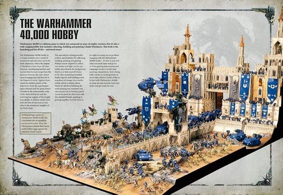 Не Ведая Страха: Стартовый Набор Вархаммер РУС (Games Workshop 21010199017) Know No Fear: A Warhammer 40,000 Starter Set