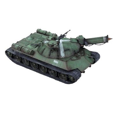 "IS-48 super heavy tank ""Lavrentiy Beria / Karl Marx"", 1 танк 2 зброї, під масштаб 40 мм (Dust Tactics DT-052), пластик"