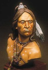 1:8 Crazy Horse, Oglala Sioux, бюст