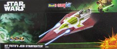1/39 Star Wars. Kit Fisto's Jedi Starfighter (Clone Wars) Easy Kit (Revell 06688)
