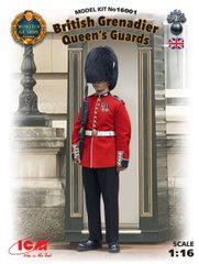 1/16 British Grenadier Queen's Guards (ICM 16001) сборная фигура