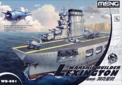 "Авианосец Lexington, серия ""Warship builder"", сборка без клея (Meng Kids WB001) Egg Ship"