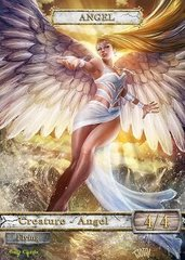 Angel #1 Token Magic: the Gathering (Токен) GnD Cards
