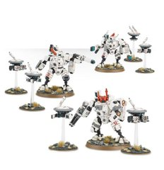 Tau Empire XV8 Crisis Battlesuits (Games Workshop 99120113038) Империя Тау: Бронекостюм XV8