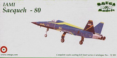 Omega Models 72383 IAMI Saequeh-80 Jet fighter plane Resin kit 1/72