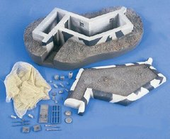 Machine Gun Atlantik Wall Bunker 1:35