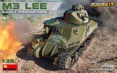 1/35 M3 Lee ранний тип, американский танк (MiniArt 35206) ИНТЕРЬЕРНАЯ модель