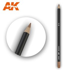 "Карандаш для везеринга и эффектов ""Медь"" (AK Interactive AK10037 Weathering pencils COPPER)"