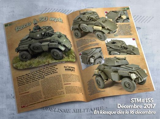Steel Masters Issue 155 December 2017. Hobby and History Magazine (французский)