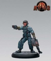 AT-43 U.N.A. - Hero Box: Sergeant A. Borz, Rackham RACKUNCH01