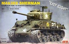 """1/35 M4A3E8 Sherman """"Easy Eight"""" американский средний танк (Rye Field Model RFM RM-5028) сборная модель"""