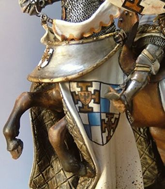 54 мм TEUTONIC GRAND MASTER, BATTLE OF GRUNWALD, JULY 15TH 1410