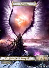 Angel #3 Token Magic: the Gathering (Токен) GnD Cards