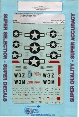 1/72 Декаль для P-47D Thunderbolt Wingmen 313th FS/50th FG (Super Scale Decals 72-765)