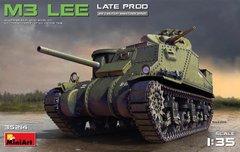 1/35 Танк M3 Lee поздней модификации (MiniArt 35214) сборная модель